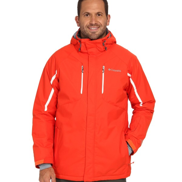Columbia Cubist™ IV Jacket Extended State Orange