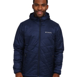 Пуховик Columbia Mighty Light™ Hooded Jacket Collegiate Navy