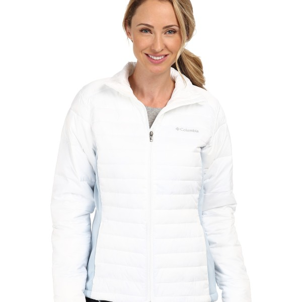Пуховик Columbia Powder Pillow™ Hybrid Jacket White