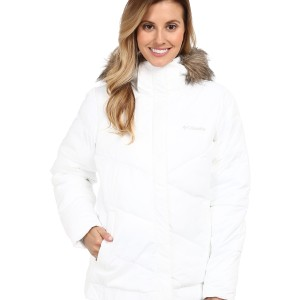 Пуховик Columbia Snow Eclipse™ Jacket White