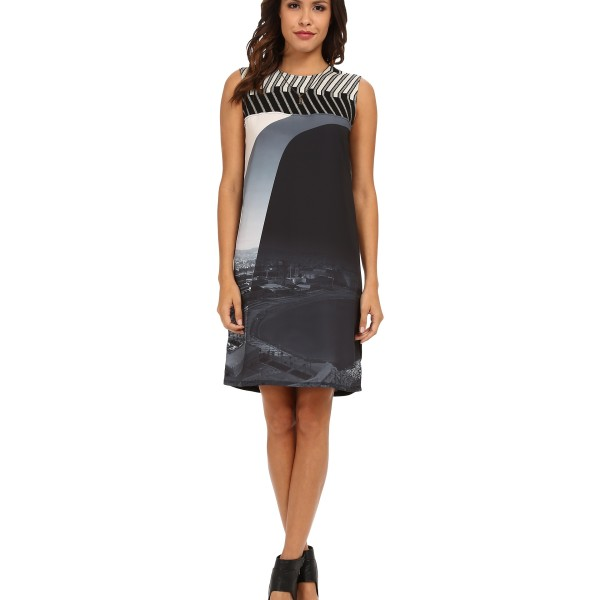 Женское платье Desigual Madrid Woven Dress Sleeveless Black
