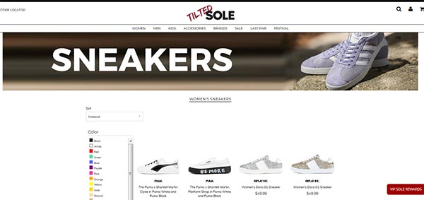 Tilted Sole